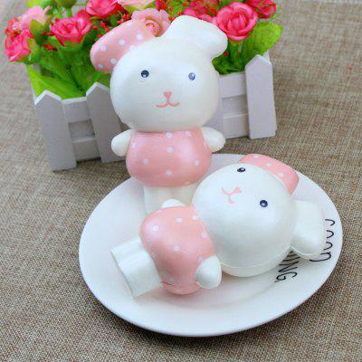 PU Slow Rising Squishy Toy Cute RabbitSquishy toys<br>PU Slow Rising Squishy Toy Cute Rabbit<br><br>Age Range: &gt; 6 years old<br>Materials: PU<br>Package Content: 1 x Squishy Toy<br>Package Dimension: 20.00 x 20.00 x 5.10 cm / 7.87 x 7.87 x 2.01 inches<br>Pattern Type: Cartoon Character<br>Product Dimension: 8.50 x 5.00 x 12.00 cm / 3.35 x 1.97 x 4.72 inches<br>Products Type: Squishy toy<br>Theme: Cartoon<br>Use: Photography Props, Home Decoration