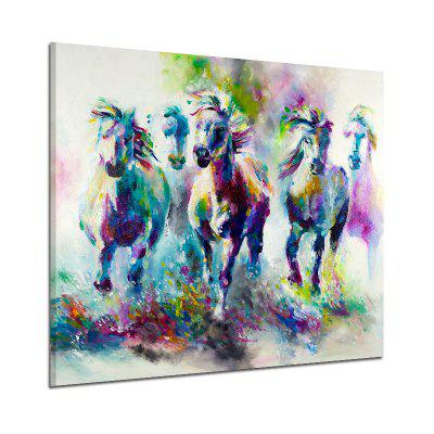 Watercolor Style Frameless Oil Painting for Home Wall Decoration