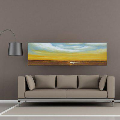 Buy COLORMIX YHHP Hand Painted Wall Art Abstract Canvas Oil Painting for $45.26 in GearBest store