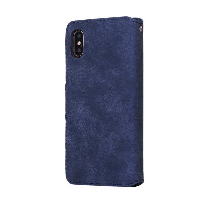 Crazy Horse Stripes PU Leather Wallet Case for iPhone XiPhone Cases/Covers<br>Crazy Horse Stripes PU Leather Wallet Case for iPhone X<br><br>Compatible for Apple: iPhone X<br>Features: Back Cover, Cases with Stand, With Credit Card Holder, Anti-knock, Dirt-resistant, Wallet Case<br>Material: TPU, PU<br>Package Contents: 1 x Phone Case<br>Package size (L x W x H): 20.00 x 15.00 x 2.20 cm / 7.87 x 5.91 x 0.87 inches<br>Package weight: 0.0630 kg<br>Product size (L x W x H): 15.00 x 8.00 x 1.90 cm / 5.91 x 3.15 x 0.75 inches<br>Style: Vintage, Leather, Vintage/Nostalgic Euramerican Style