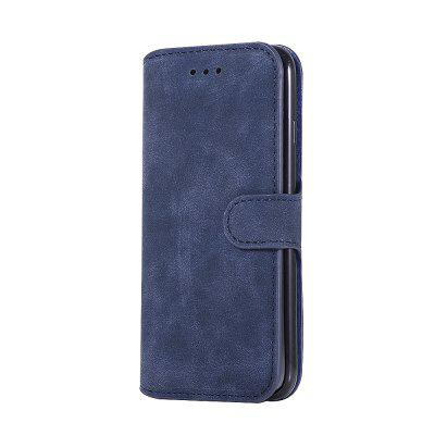 Crazy Horse Stripes PU Leather Wallet Case for iPhone 7 / 8