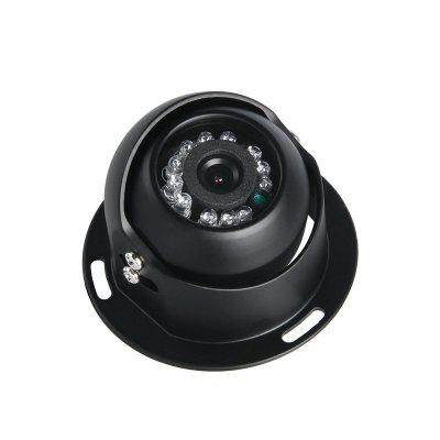 GISION 600TVL CCD Vehicle Camera IR Night Vision Metal Mini Indoor Security Camera 3.6mm Aviation ZX - 236H