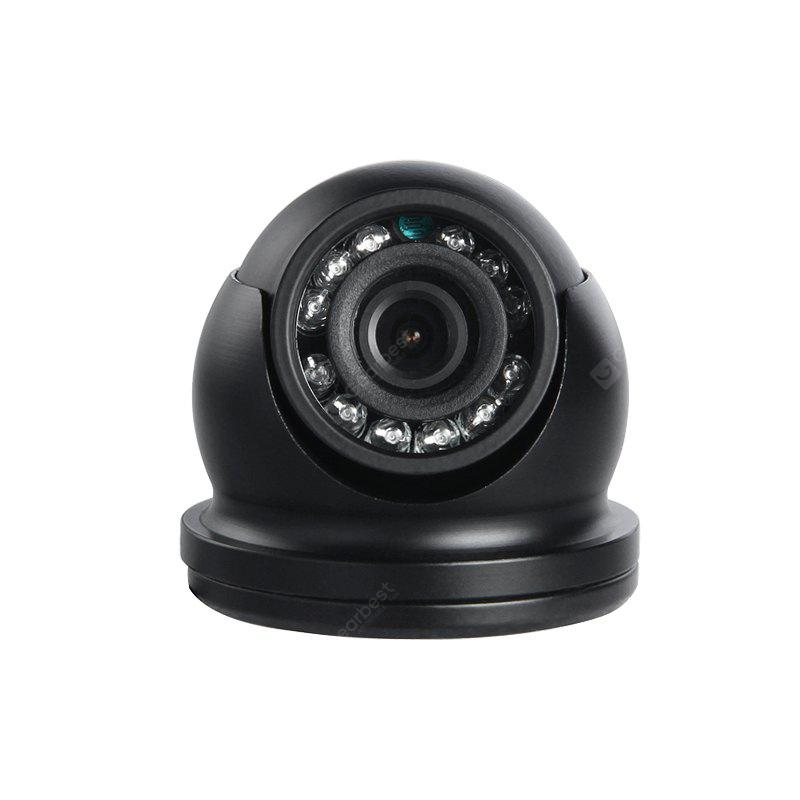 GISION 600TVL CCD IR Night Vision Vehicle Camera Indoor Security Camera Metal Mini Dome Aviation 3.6mm ZX - 238H