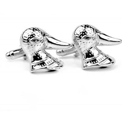 Men's Cufflinks Animal Shape Personality Lovely Cuff Buttons Accessory