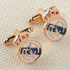 Men's Cufflinks Fine Handsome Unique Design Cuff Buttons Accessory - GOLDEN