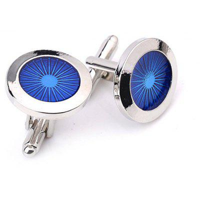 Men's Cufflinks Cozy Design Stainless Steel All Match Buttons Accessory
