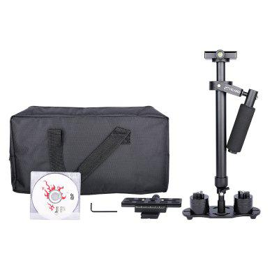 YELANGU Portable Video Camera Stabilizer S60N with 60cm Adjustable Aluminium Rods Support DV HDV DSLR