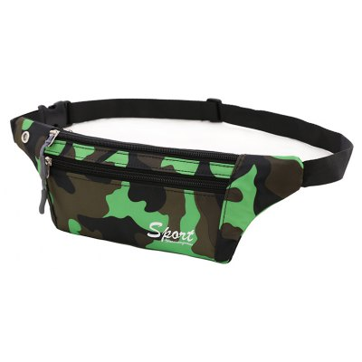 Green Outdoor Sporting Casual Waist Pack bag