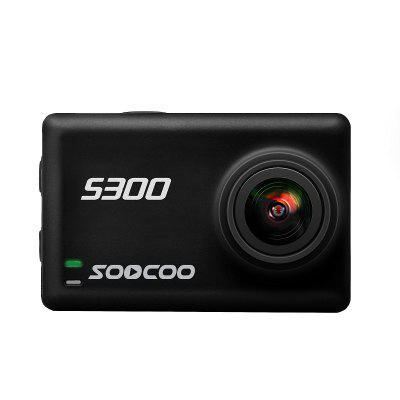SOOCOO S300 Sports Camera Hi3559V100 + IMX377 Built-In WiFi Gyroscope Anti-shake 4K 30FPS External Microphone Image