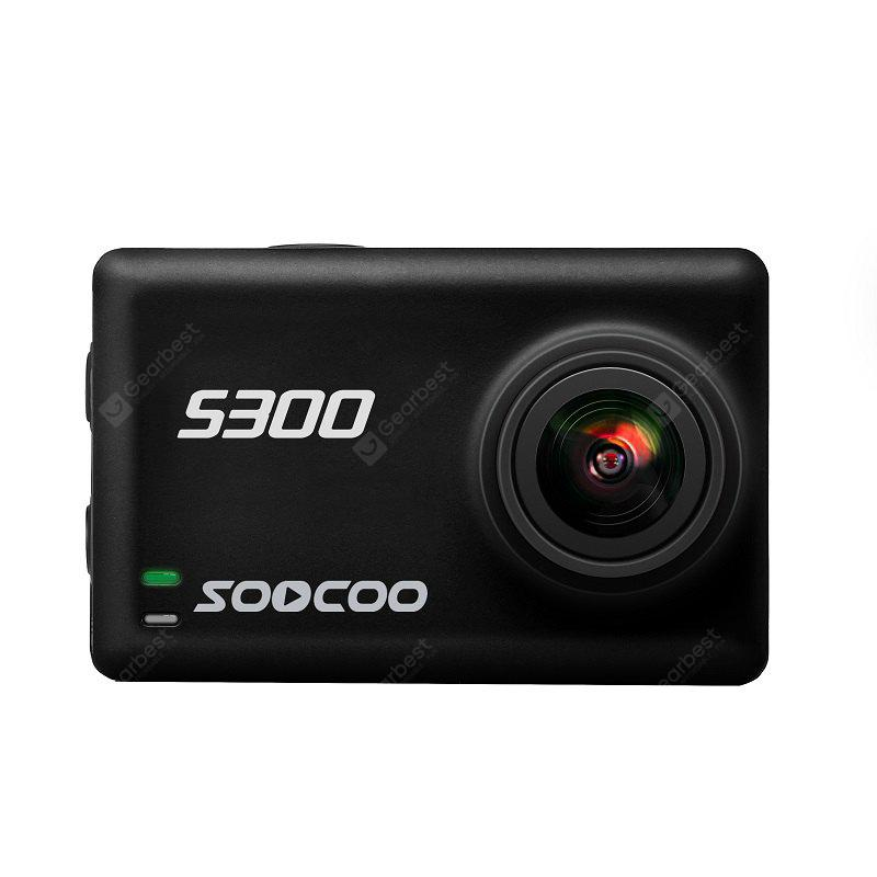 SOOCOO S300 Sports Camera Hi3559V100 + IMX377 Built-In WiFi Gyroscope Anti-shake 4K 30FPS External Microphone