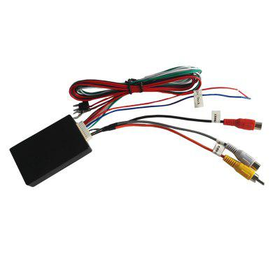 Two Way Video Switching Box Car Right Side Blind Camera Car Reversing Image