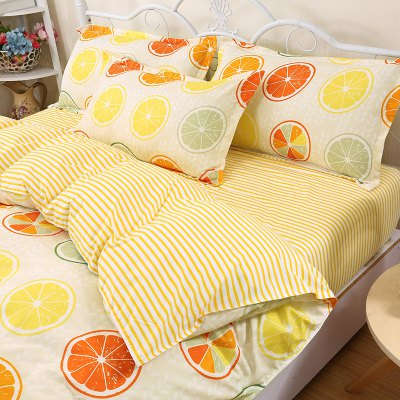 Weina Lemon C Design Bedding SetBedding Sets<br>Weina Lemon C Design Bedding Set<br><br>Brand: weina<br>Category: Bedding Set<br>For: All<br>Material: Cotton Linen<br>Occasion: Bedroom<br>Package Contents: 1 x Quilt Cover, 1 x Bed Sheet, 2 x Pillowcase<br>Package size (L x W x H): 50.00 x 40.00 x 5.00 cm / 19.69 x 15.75 x 1.97 inches<br>Package weight: 1.6000 kg<br>Product weight: 1.5000 kg