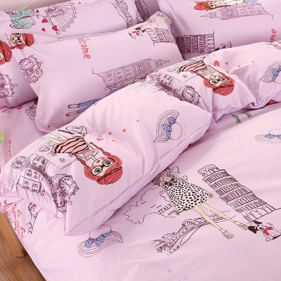 Weina AnnaS Travel Patterns Bedding SetBedding Sets<br>Weina AnnaS Travel Patterns Bedding Set<br><br>Brand: weina<br>Category: Bedding Set<br>For: All<br>Material: Cotton Linen<br>Occasion: Bedroom<br>Package Contents: 1 x Quilt Cover, 1 x Bed Sheet, 2 x Pillowcase<br>Package size (L x W x H): 50.00 x 40.00 x 5.00 cm / 19.69 x 15.75 x 1.97 inches<br>Package weight: 1.6000 kg<br>Product weight: 1.5000 kg
