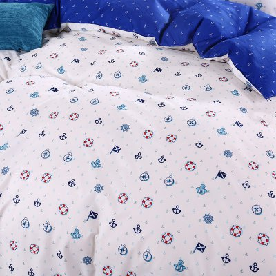 Weina Navy Blue Pattern Bedding SetBedding Sets<br>Weina Navy Blue Pattern Bedding Set<br><br>Brand: weina<br>Category: Bedding Set<br>For: All<br>Material: Cotton Linen<br>Occasion: Bedroom<br>Package Contents: 1 x Quilt Cover, 1 x Bed Sheet, 2 x Pillowcase<br>Package size (L x W x H): 50.00 x 40.00 x 5.00 cm / 19.69 x 15.75 x 1.97 inches<br>Package weight: 1.6000 kg<br>Product weight: 1.5000 kg