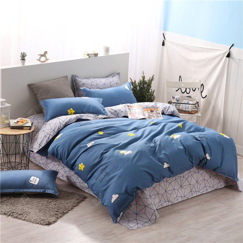 Set biancheria da letto Weina Colorful Day Pattern