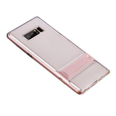 Shockproof with Stand Transparent Back Cover Hard Case for Samsung Galaxy Note 8