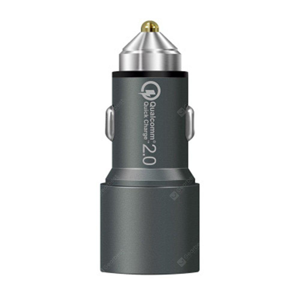 XY001 Multi Function Dual USB for Car Charger Head
