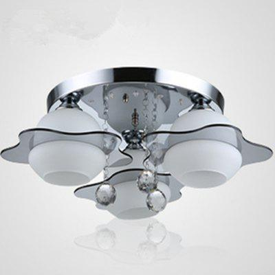 5W Three Heads Electrodeless Dimming LED Ceiling Lamp 220V