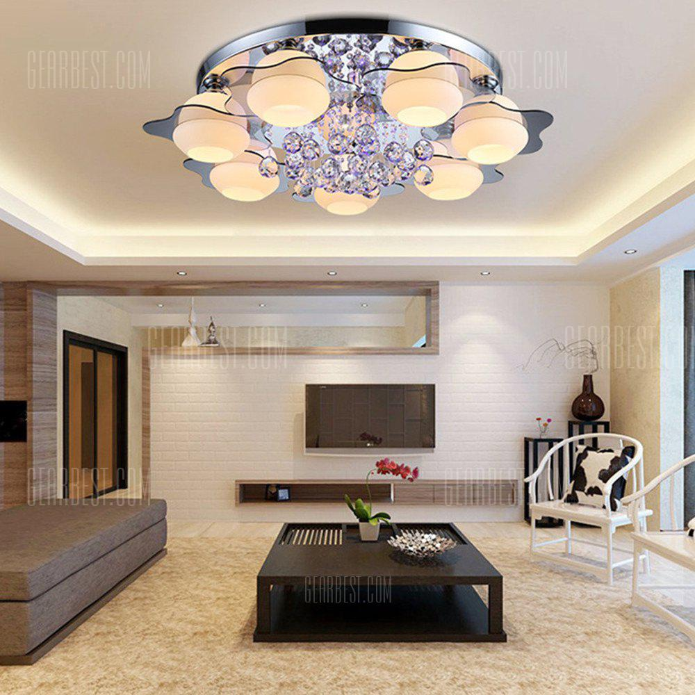 LED Ceiling Lamp  Electrodeless Dimming  Seven Heads of Warm Light