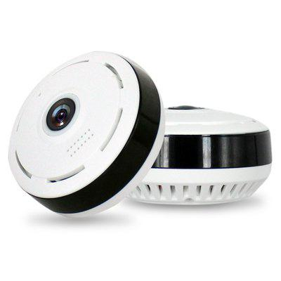 2.0MP 360 Degree 1080P FHD Wi-Fi Panoramic Fisheye IP Dome Camera Real - Time Monitoring Home Security System