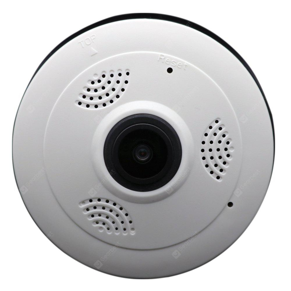 IPC - F68 WiFi Panoramic Fisheye IP Dome Camera Wireless 960P Real-Time Monitoring Home Security CCTV System