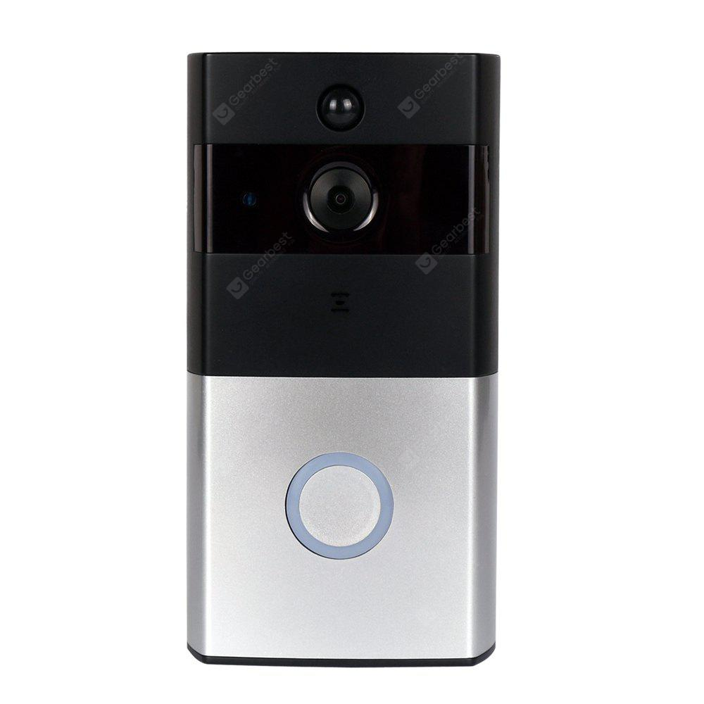 Wireless Battery WiFi H.264 Video Doorbell PIR Two Way Audio Home Security Night Vision