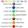 New 7 Chakla Healing Balance Beads Bracciale Yogas Life Energy Bracelet Lovers Gioielli casual - COLORE DDLL'IMMAGINE
