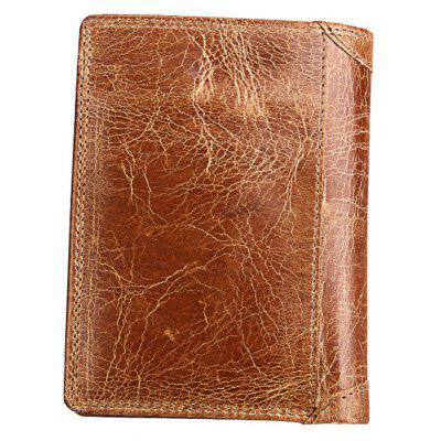 Men Leather Wallet Multifunctional Vertical Section Male PursesWallets<br>Men Leather Wallet Multifunctional Vertical Section Male Purses<br><br>Closure Type: Zipper, Twist Lock<br>Gender: For Men<br>Height: 2.5CM<br>Length(CM): 10.2CM<br>Main Material: Genuine Leather<br>Package Contents: 1 x Wallet<br>Package size (L x W x H): 14.00 x 11.00 x 3.00 cm / 5.51 x 4.33 x 1.18 inches<br>Package weight: 0.1500 kg<br>Pattern Type: Others<br>Product weight: 0.1200 kg<br>Style: Vintage<br>Wallets Type: Standard Wallets<br>Width: 13CM