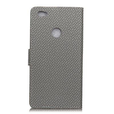 Woven Pattern Texture Wallet Leather Stand Cover Phone Cases for Redmi 5ACases &amp; Leather<br>Woven Pattern Texture Wallet Leather Stand Cover Phone Cases for Redmi 5A<br><br>Compatible Model: Redmi 5A<br>Features: Full Body Cases, Cases with Stand, With Credit Card Holder, Anti-knock<br>Material: PU Leather<br>Package Contents: 1 x Phone Case<br>Package size (L x W x H): 15.00 x 8.00 x 2.00 cm / 5.91 x 3.15 x 0.79 inches<br>Package weight: 0.0500 kg<br>Product Size(L x W x H): 15.00 x 7.00 x 2.00 cm / 5.91 x 2.76 x 0.79 inches<br>Style: Solid Color