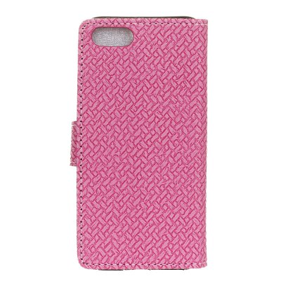 WovenPattern Texture Wallet Leather Stand Cover Phone Cases for iPhone 7Cases &amp; Leather<br>WovenPattern Texture Wallet Leather Stand Cover Phone Cases for iPhone 7<br><br>Compatible Model: iPhone 7<br>Features: Anti-knock, Cases with Stand, Full Body Cases, With Credit Card Holder<br>Material: PU Leather<br>Package Contents: 1 x Phone Case<br>Package size (L x W x H): 14.00 x 8.00 x 2.00 cm / 5.51 x 3.15 x 0.79 inches<br>Package weight: 0.0450 kg<br>Product Size(L x W x H): 13.80 x 7.00 x 1.50 cm / 5.43 x 2.76 x 0.59 inches<br>Style: Solid Color