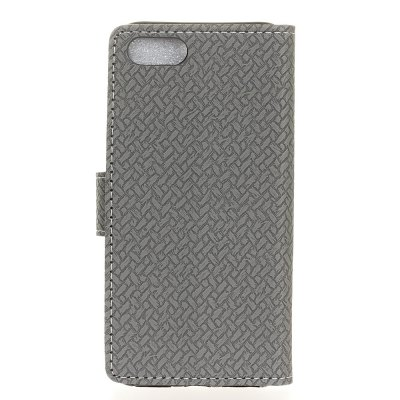 WovenPattern Texture Wallet Leather Stand Cover Phone Cases for iPhone 8Cases &amp; Leather<br>WovenPattern Texture Wallet Leather Stand Cover Phone Cases for iPhone 8<br><br>Compatible Model: iPhone 8<br>Features: Anti-knock, Cases with Stand, Full Body Cases, With Credit Card Holder<br>Material: PU Leather<br>Package Contents: 1 x Phone Case<br>Package size (L x W x H): 14.00 x 8.00 x 2.00 cm / 5.51 x 3.15 x 0.79 inches<br>Package weight: 0.0450 kg<br>Product Size(L x W x H): 13.80 x 7.00 x 1.50 cm / 5.43 x 2.76 x 0.59 inches<br>Style: Solid Color