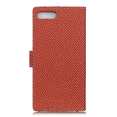 WovenPattern Texture Wallet Leather Stand Cover Phone Cases for iPhone 7 Plus icarer wallet genuine leather phone stand cover for iphone 6s plus 6 plus marsh camouflage