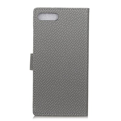 WovenPattern Texture Wallet Leather Stand Cover Phone Cases for iPhone 8 Plus icarer wallet genuine leather phone stand cover for iphone 6s plus 6 plus marsh camouflage