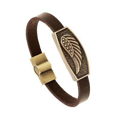 Bracciale da uomo Casual Fashion Alloy Vintage Trendy All Match Accessory