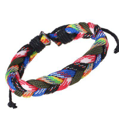 Bracciale da uomo Strand Fashion Colorato Trendy All Match Accessory