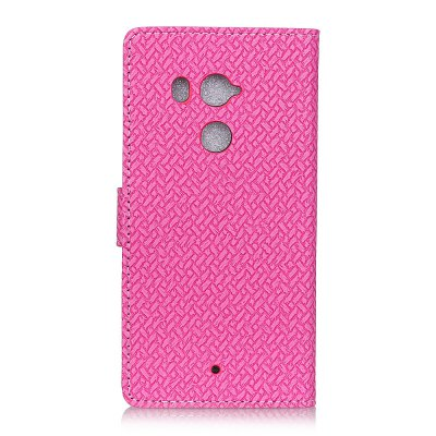 Braided Leather Cover Case  for HTC U11 PlusStands &amp; Holders<br>Braided Leather Cover Case  for HTC U11 Plus<br><br>Package Contents: 1 x Phone Case<br>Package size (L x W x H): 18.00 x 8.00 x 2.00 cm / 7.09 x 3.15 x 0.79 inches<br>Package weight: 0.0430 kg<br>Product size (L x W x H): 16.00 x 6.70 x 0.70 cm / 6.3 x 2.64 x 0.28 inches<br>Product weight: 0.0400 kg