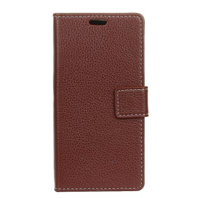 Litchi Pattern Pattern Leather Cover Case for HTC U11 Plus