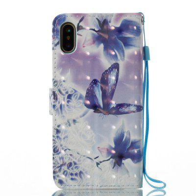 3D Painted Butterfly Leather Case for iPhone XiPhone Cases/Covers<br>3D Painted Butterfly Leather Case for iPhone X<br><br>Features: With Credit Card Holder, With Lanyard, FullBody Cases<br>Material: Genuine Leather, TPU<br>Package Contents: 1 x Phone Case<br>Package size (L x W x H): 16.00 x 8.00 x 2.00 cm / 6.3 x 3.15 x 0.79 inches<br>Package weight: 0.0600 kg<br>Product size (L x W x H): 14.80 x 7.80 x 1.60 cm / 5.83 x 3.07 x 0.63 inches<br>Product weight: 0.0590 kg<br>Style: Floral