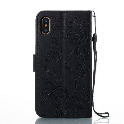 Single-sided Embossed Butterfly Flowers Leather Case for iPhone XiPhone Cases/Covers<br>Single-sided Embossed Butterfly Flowers Leather Case for iPhone X<br><br>Features: With Lanyard, FullBody Cases, Case with Kickstand<br>Material: Genuine Leather, TPU<br>Package Contents: 1 x Phone Case<br>Package size (L x W x H): 18.00 x 8.00 x 2.00 cm / 7.09 x 3.15 x 0.79 inches<br>Package weight: 0.0600 kg<br>Product size (L x W x H): 14.80 x 7.80 x 1.80 cm / 5.83 x 3.07 x 0.71 inches<br>Product weight: 0.0590 kg<br>Style: Vintage
