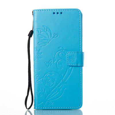 Single-sided Embossed Leather Case for Samsung Galaxy Note 8