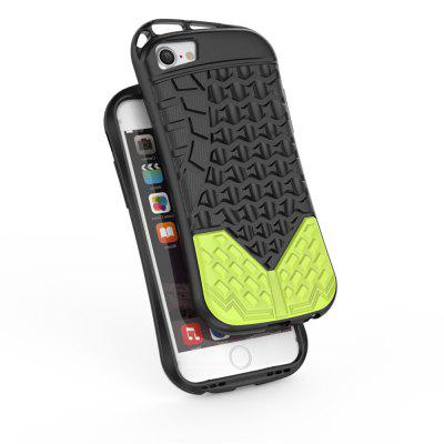 Drop-resistance Sports Shoe Style Cover Case for iPhone 8iPhone Cases/Covers<br>Drop-resistance Sports Shoe Style Cover Case for iPhone 8<br><br>Features: Back Cover, Bumper Frame<br>Material: Silicone<br>Package Contents: 1 x Phone Case<br>Package size (L x W x H): 18.00 x 8.00 x 2.00 cm / 7.09 x 3.15 x 0.79 inches<br>Package weight: 0.0350 kg<br>Product size (L x W x H): 16.00 x 7.60 x 0.80 cm / 6.3 x 2.99 x 0.31 inches<br>Product weight: 0.0340 kg<br>Style: Novelty