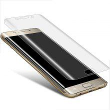 PET Soft 3D Curved Mobile Phone Full Screen Transparent Film for Samsung Galaxy S6 Edge
