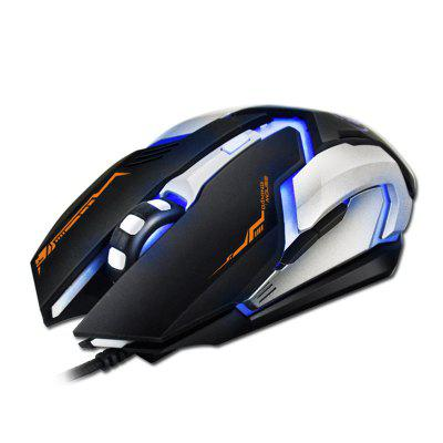 Professional Gaming Mouse V6 Standard Edition  Four-color Breathing Backlight