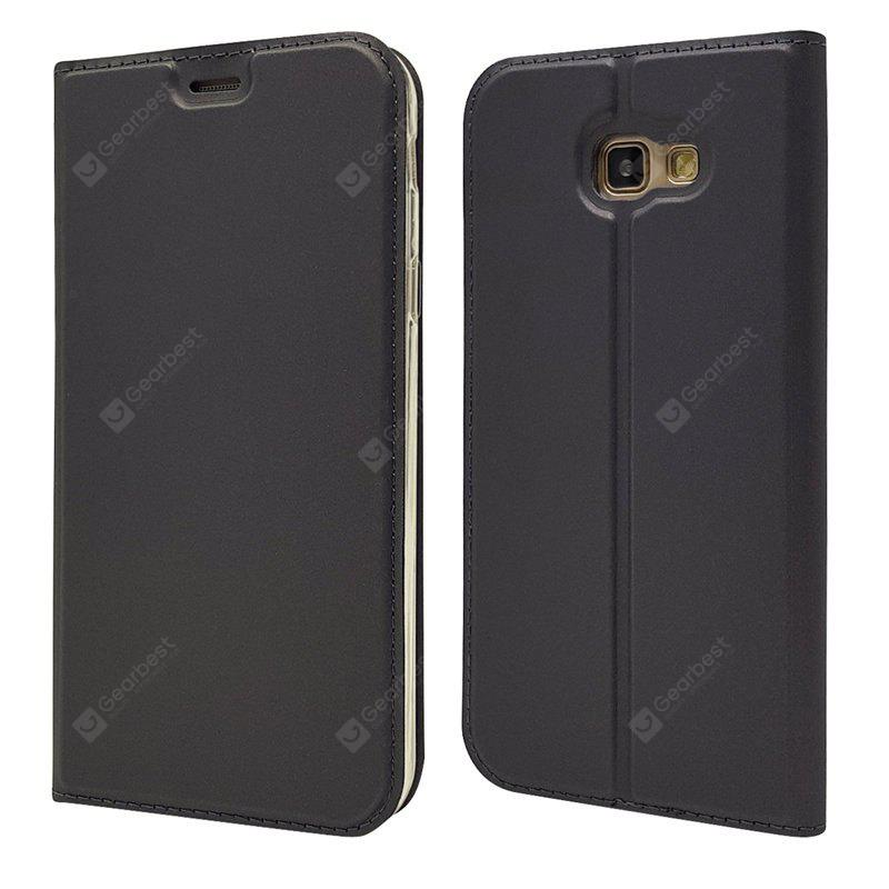 Ultra fino Flip Magnetic PU Leather Phone Cover para Samsung Galaxy A5 2017 A520