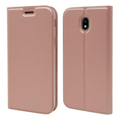Ultra thin Flip Magnetic PU Leather Phone Cover for Samsung Galaxy J7 2017 J730 EU Version