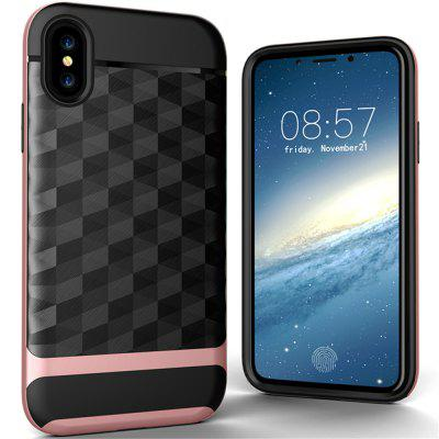 Wire Drawing Back Cover Mobile Phone Shell for iPhone X