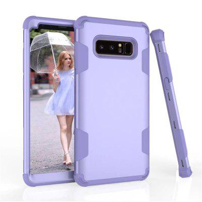 PC + TPU + Silicone Triad Environmental Protection Material Following From Hitting Scene for Samsung Note 8