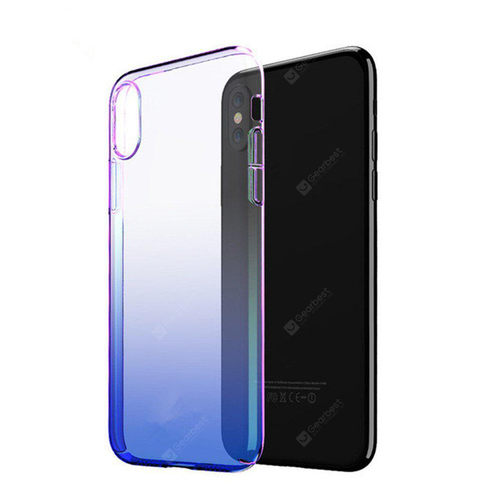 Phone Cases For iPhone X Luxury Blue Ray Ultra Slim Hard Protective Back Cover