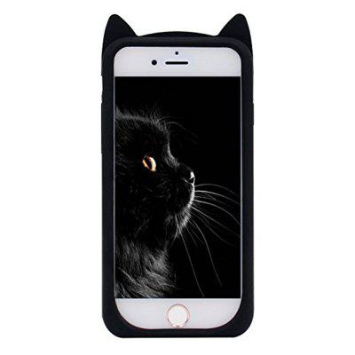 Case For iPhone 8 / 7 Pattern Back Cover Beard Cat Soft Silicone fierce tiger hard case cover for iphone 6s 6 4 7 inch