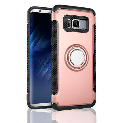 2 in 1 Shockproof 360 Degree Rotating Ring Stand with Case for Samsung Galaxy S8 Plus